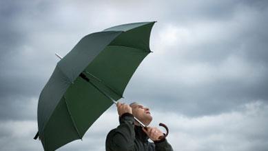 Wetter - Sturm und Regen